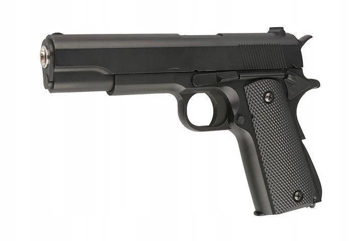 Детский пистолет ZM 19 копия Colt 1911-A1 металл+пластик