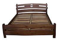 Кровать полуторная деревянная Токио