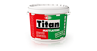 Краска латексная TITAN MATTLATEKS интерьерная 2,5 л