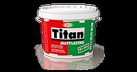 Краска латексная TITAN MATTLATEKS интерьерная 5 л