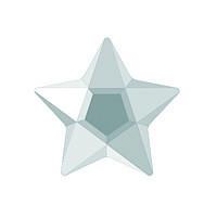 DJ20 - Звезда белая (фианит)