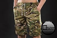 Мужские шорты Ястребь Multicam (Мультикам) есть опт, фото 1