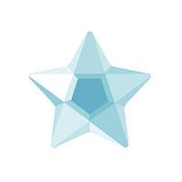 DJ21 - Звезда голубой лед (фианит)