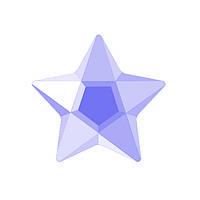 DJ24 - Звезда пурпурная (фианит)