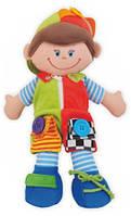 Плюшевая игрушка Baby Mix Кукла Мальчик TE-8081-38A