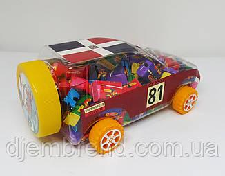 Жевательная резинка Small Car PPU ассорти + тату , 2,6 гр х 100 шт