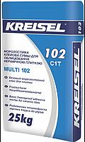 Клей для плитки Kreisel Multi 102 (Крайзель Мульти 102), 25 кг