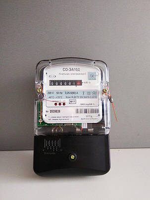 Счетчик электрической энергии Коммунар СО-ЭА10Д 5(60)А, фото 2
