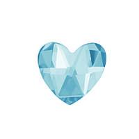 DJ71 - Сердце голубой лед (фианит)