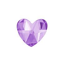 DJ72 - Сердце розовое (фианит)