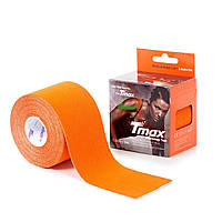 Кинезио тейп Tmax Tape (КОРЕЯ) 5см х 5м оранжевый