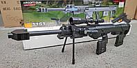 Детская снайперская винтовка на пульках CYMA P.1161 аналог Coalorka DSR-1 для страйкбола + пистолет, фото 1