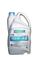 Масло моторное полусинтетика RAVENOL(равенол) TSi SAE 10W-40 4л.