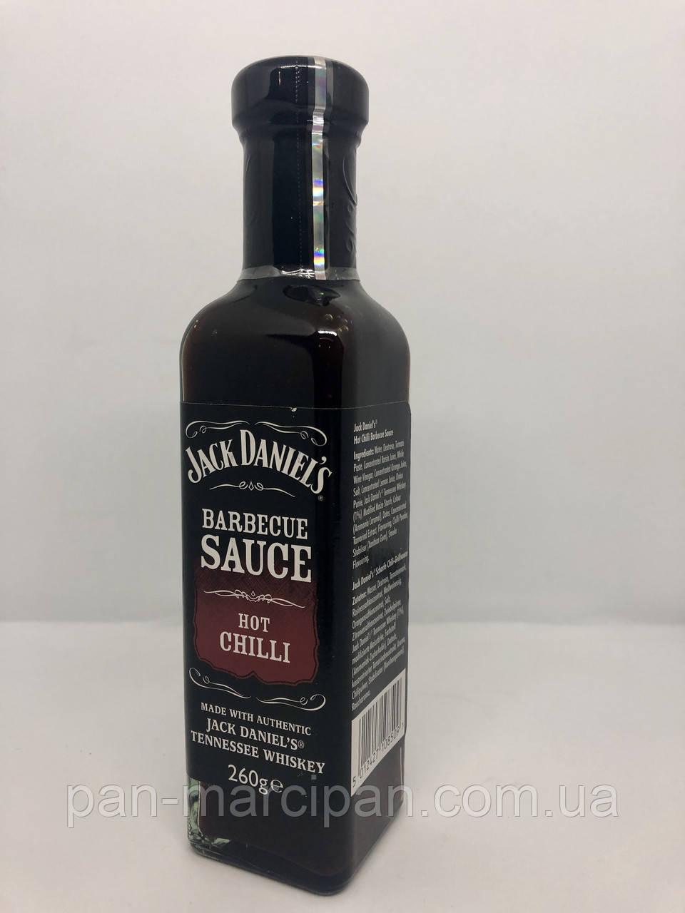Соус Jack Daniel's Barbecue Sause Hot Chilli 260 g