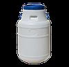 Бочка (бидон) пищевая 50 л белая ф-21см 327х660