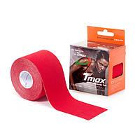 Кинезио тейп Tmax Tape (КОРЕЯ) 5см х 5м красный