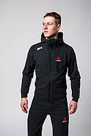 Спортивный костюм мужской Reebok UFC black демисезонный | осенний весенний