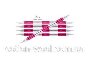 Спиці шкарпеткові KnitPro Smartstix  укорочені (14см) №2