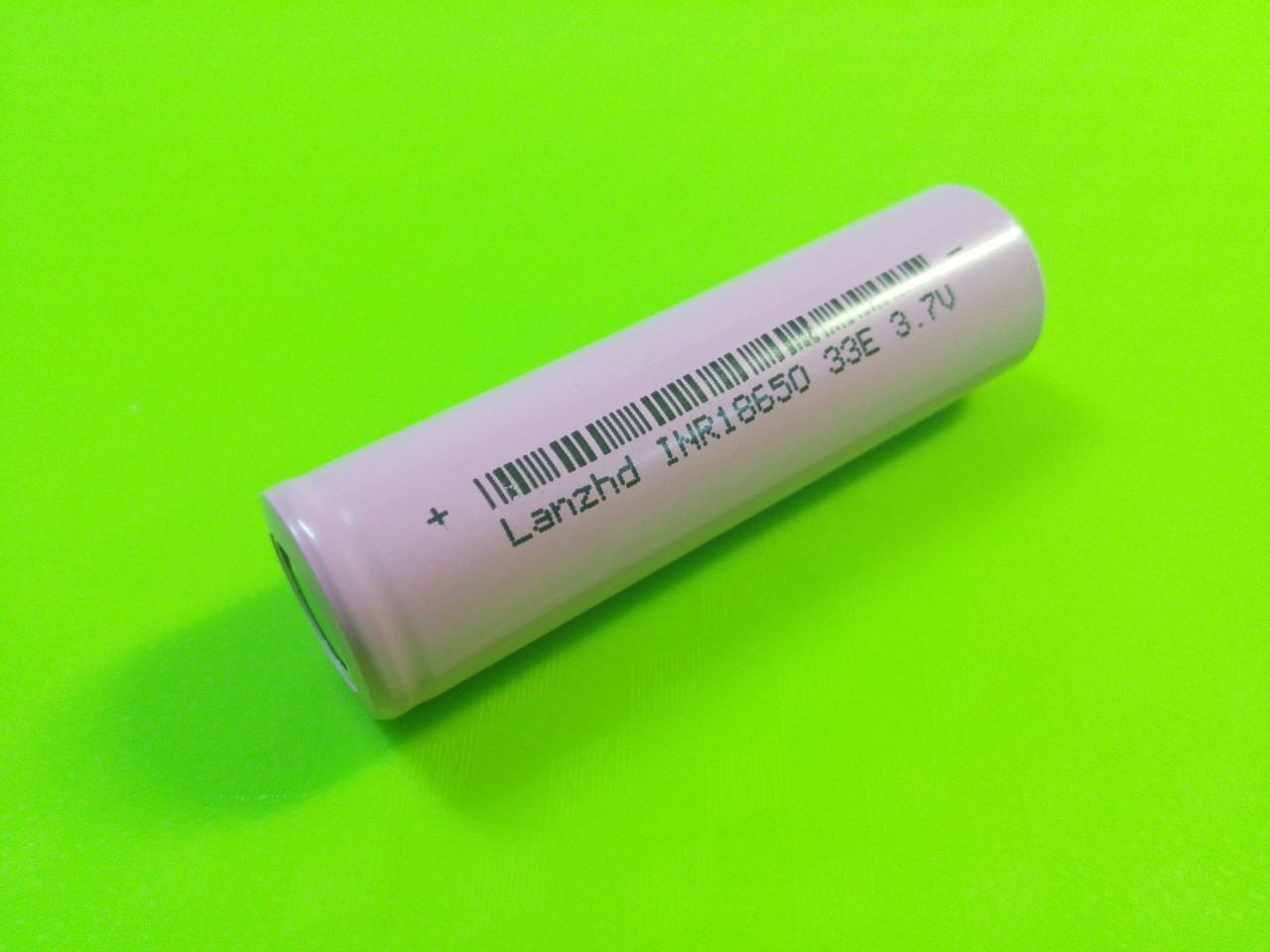 Аккумулятор INR18650 LanzHD Li-ion 3300 мАч качество гарантирует производитель