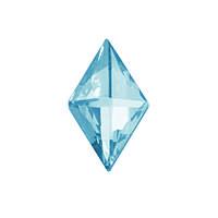 DJ101 - Ромб голубой лед (фианит)