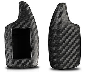 Силиконовый под карбон чехол для ключа Scher-Khan Magicar 5 6 902F