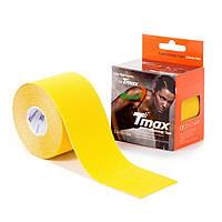 Кинезио тейп Tmax Tape (КОРЕЯ) 5см х 5м желтый