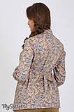 Рубашка для беременных и кормящих из стрейчевой хлопковой ткани Noni BL-36.031, фото 3