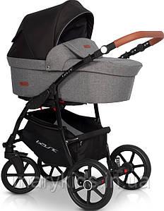 Детская универсальная коляска 2 в 1 Riko Basic 01 Antracite