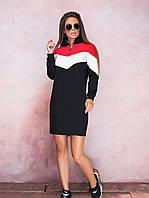 Женское спортивное платье Modus | Норма и батал ткань двунитка скл.10 арт.805
