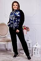 Велюровый спортивный костюм женский Размер 50 52 54 56 58 60 62 64 В наличии 3 цвета, фото 1
