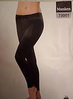 Лосины (леггинсы) марки MANKEN (73001) черные. Р-р 46.