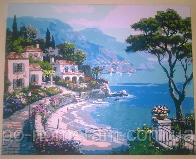 Картина по номерам Райский уголок отзывы и видео