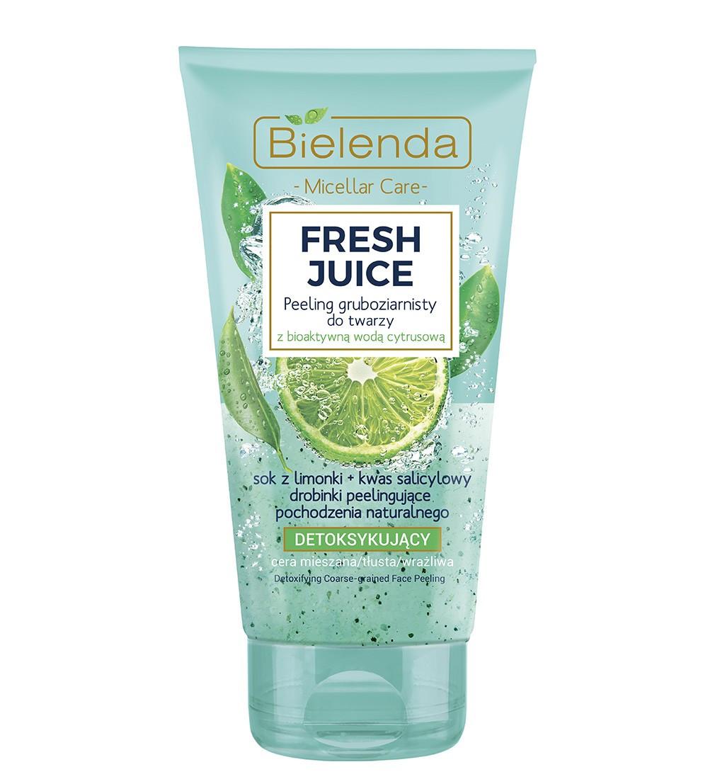 Крупнозернистый пилинг для лица Bielenda Fresh Juice 150 мл