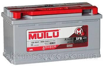 Акумулятор автомобільний Mutlu Silver 95AH R+ 900A (LB5.95.085.A)