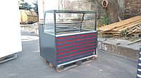 Витрина-Куб холодильная 1,25 м. Гастрономическая витрина б.у., фото 1