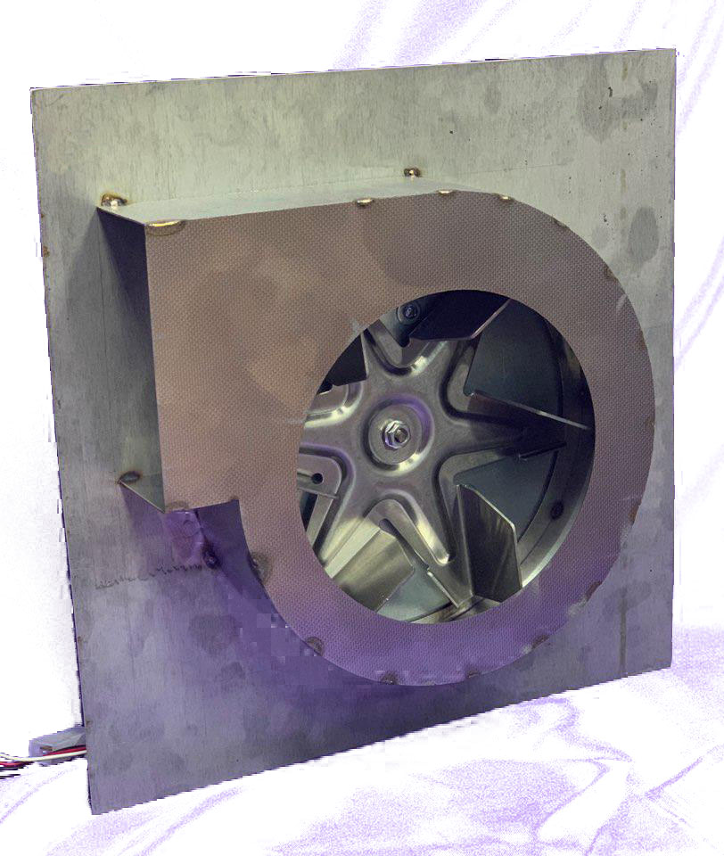 Дымосос пластина + двигатель WT 150