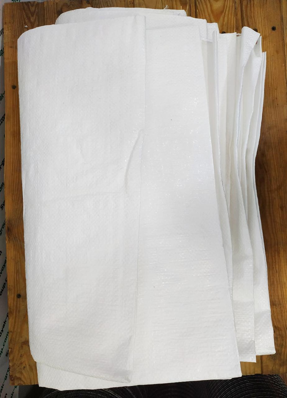 Мешок полипропиленовый. 55х90 см. Белый. Строительный, сахарный