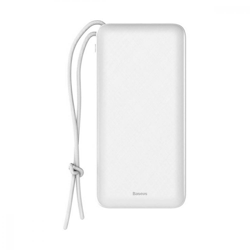 Зовнішній акумулятор (Power Bank) Baseus Mini Q White (PPALL-DXQ02)