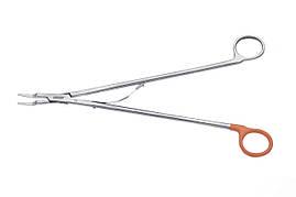 Клипсонакладач Horizon для открытых хирургических вмешательств, длина 28 см, для клипс большого размера