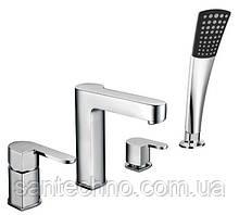 """Змішувач для ванни врізний """"Ernest"""" AR28218D-1303"""