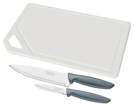 Набір ножів TRAMONTINA PLENUS 3 предмета 23498/614, фото 2