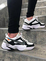 Мужские повседневные кроссовки Nike Tekno Off White and White/Black