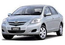 Накладка на решетку зимняя Toyota Yaris (2006-2012)
