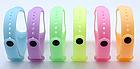 Ремешок Xiaomi Mi Band 4 / 3 Luminous Glory силиконовый люминисцентный Желтый [2174], фото 2
