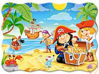 Пазлы для детей Пиратские сокровища на 30 элементов Сastorland