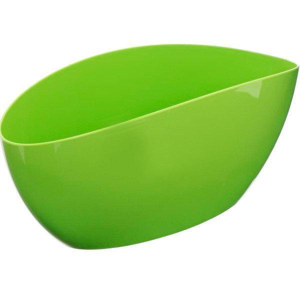 Горшок кашпо «ЛУНА», светло-зеленый