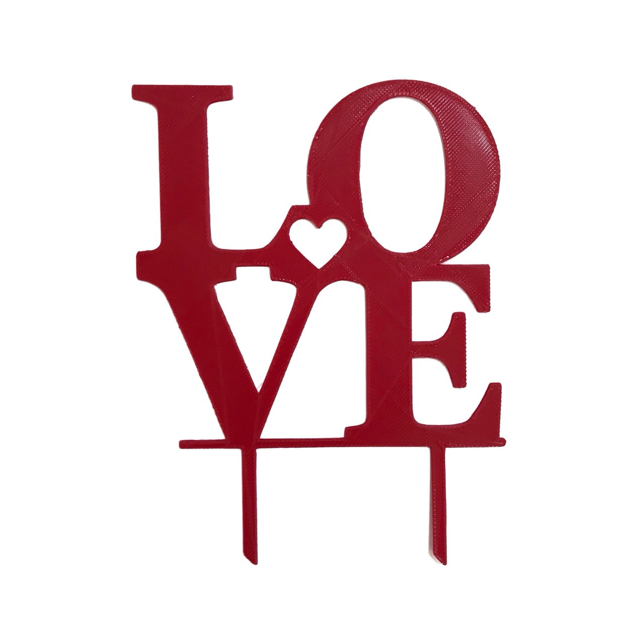 """Топпер """"Love"""" червоний"""