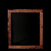 Доска меловая (в рамке декор) 600*500 ПХ, фото 1