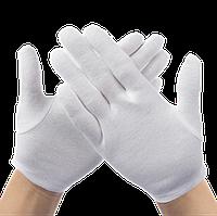 Перчатки для официантов, ювелиров Atteks парадные белые L - 1204, фото 1