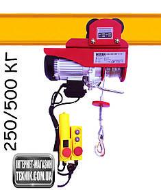 Тельфир з кареткою BOXER 500 КГ 2000 ВТ